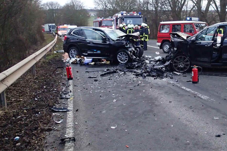 Das ältere Ehepaar starb noch an der Unfallstelle.