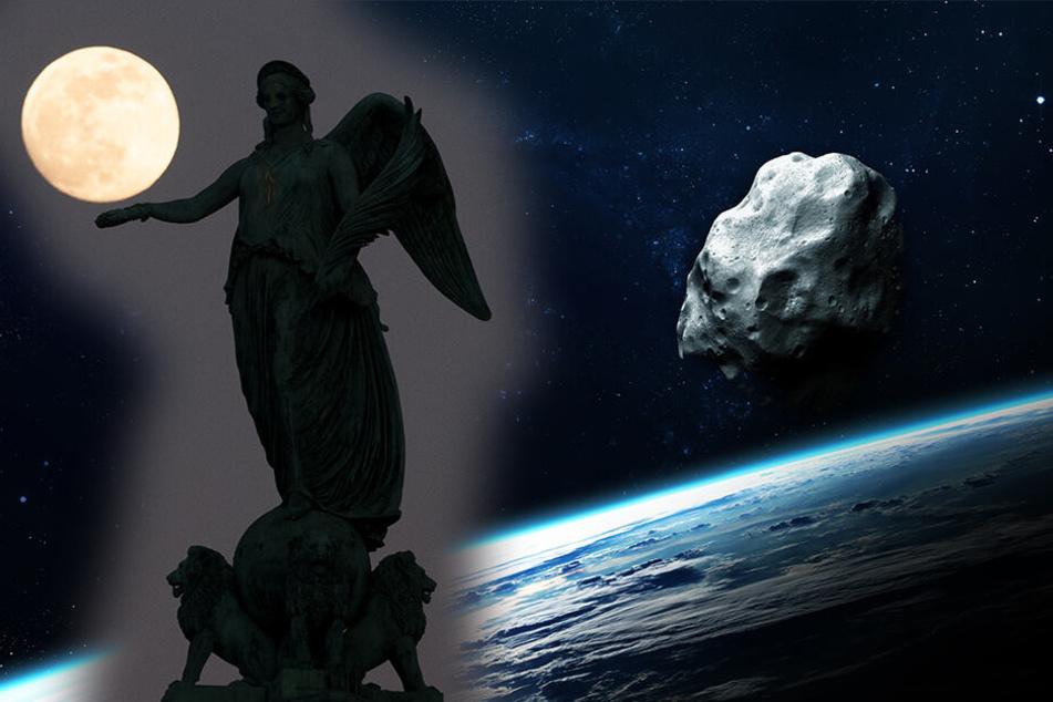 Asteroiden & Meteoriten: Supermond und Asteroid: Heute gibt es ein Spektakel am Himmel!