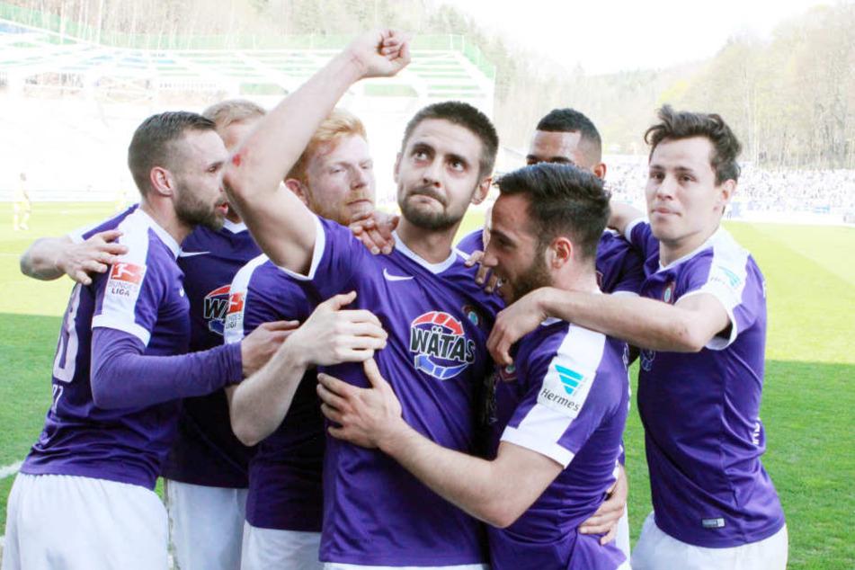 Dimitrij Nazarov erzielte im Spiel zwei Tore.
