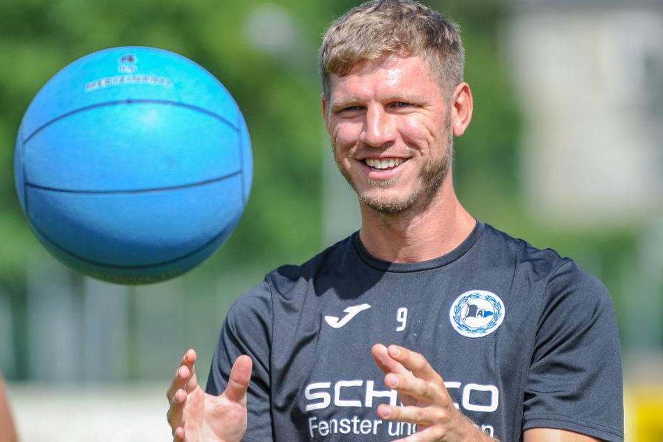 Fabian Klos will in Bielefeld bleiben, seit 2011 ist er da.