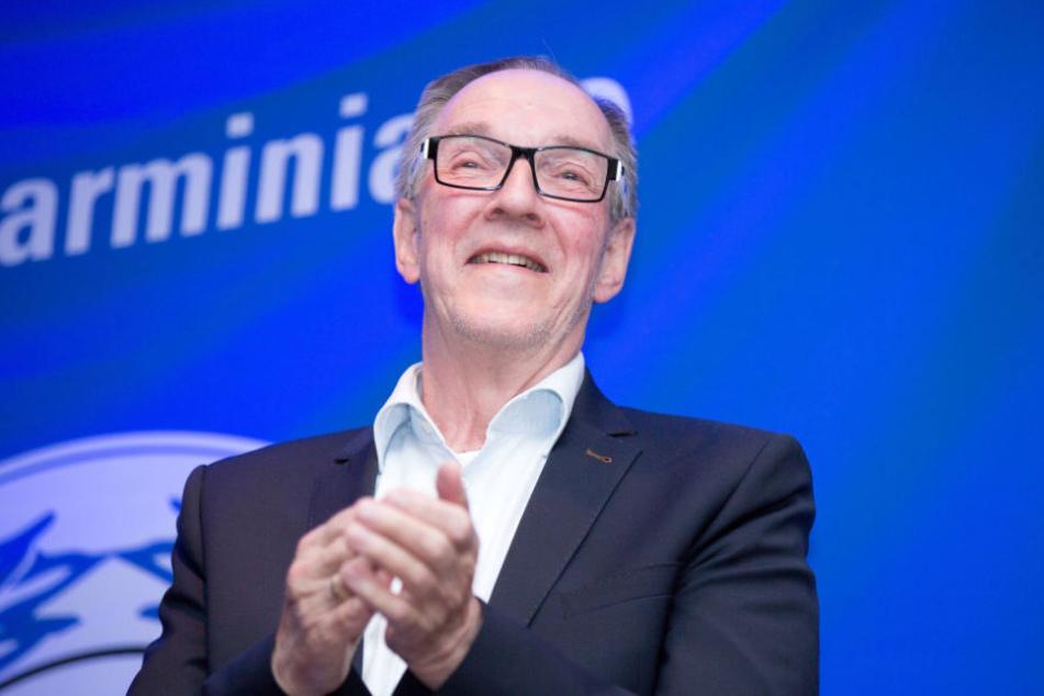 DSC-Präsident Hans Jürgen Laufer feiert seinen 70. Geburtstag.