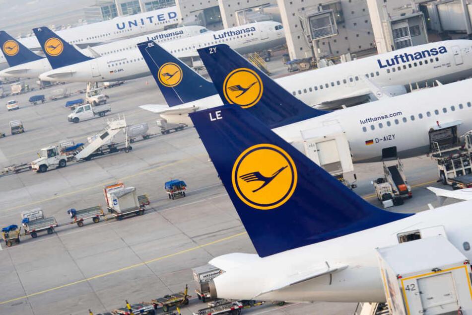 Die Lufthansa-Maschine hob ohne die Familie ab. (Symbolbild)