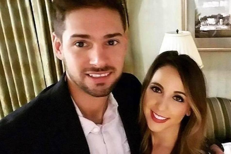 Das hübsche Paar: Grant und Cassandra.