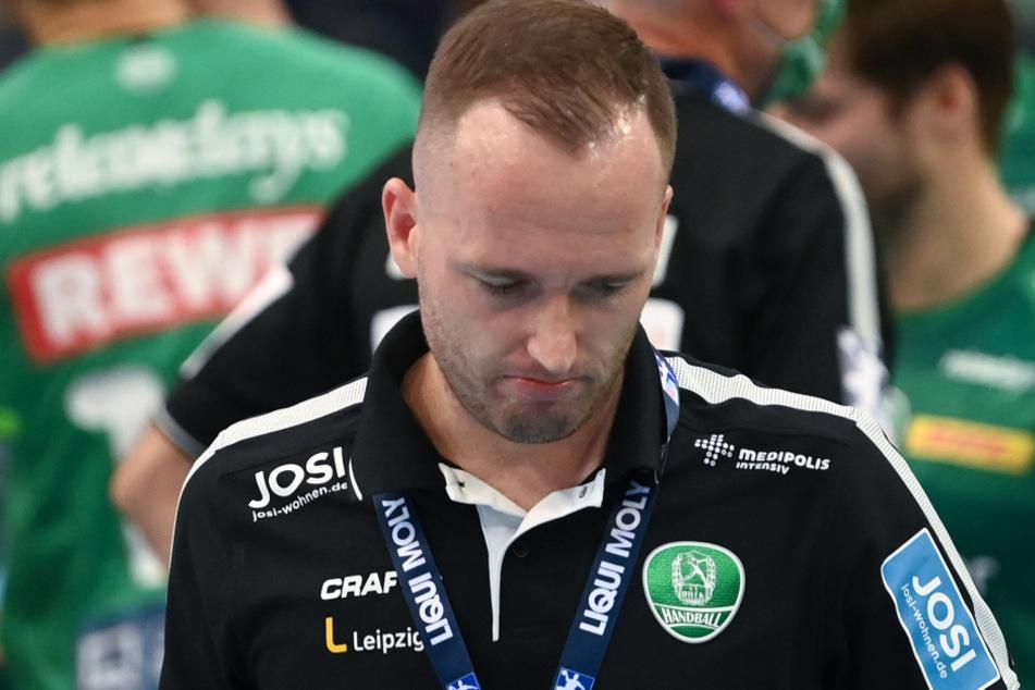 Leipzigs Trainer André Haber ist jetzt in Quarantäne.