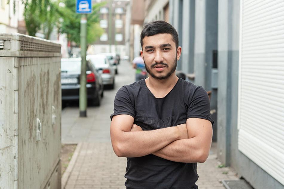 Andrei Alexandro will keinen Ärger. Der Rumäne ist froh, in Deutschland einen Job auf dem Bau gefunden zu haben.