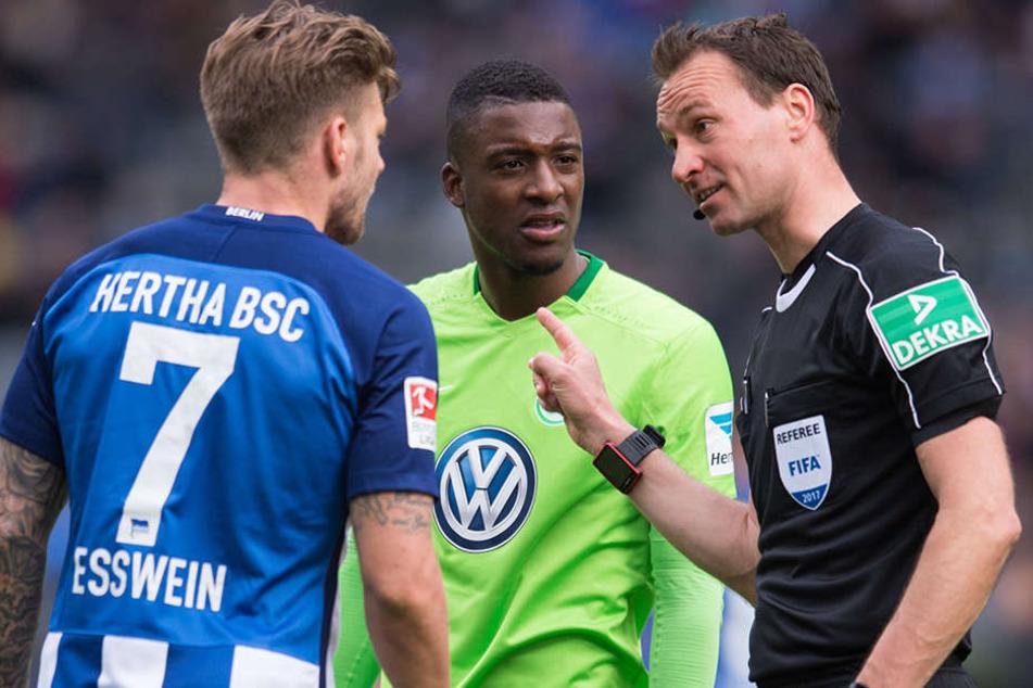 Alexander Esswein: Hier im Einsatz gegen Wolfsburg.