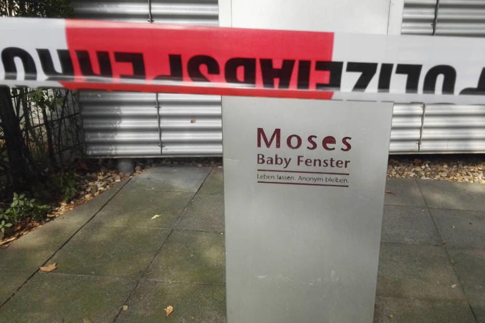 Hier wurde der tote Säugling aufgefunden.