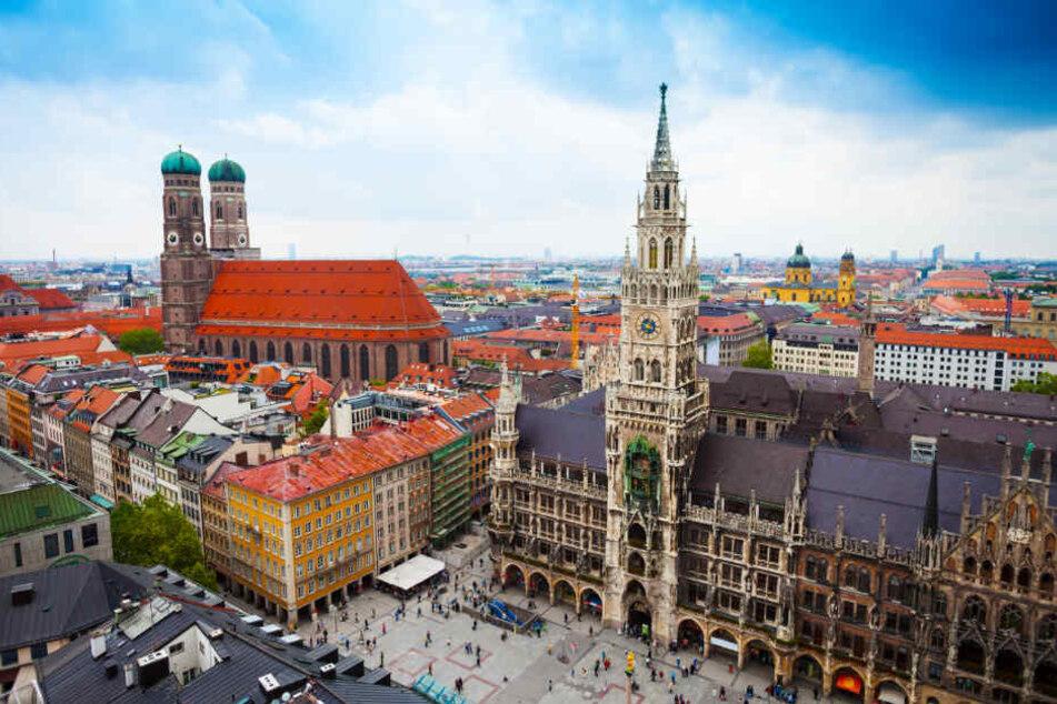 Die Innenstadt von München. (Symbolbild)