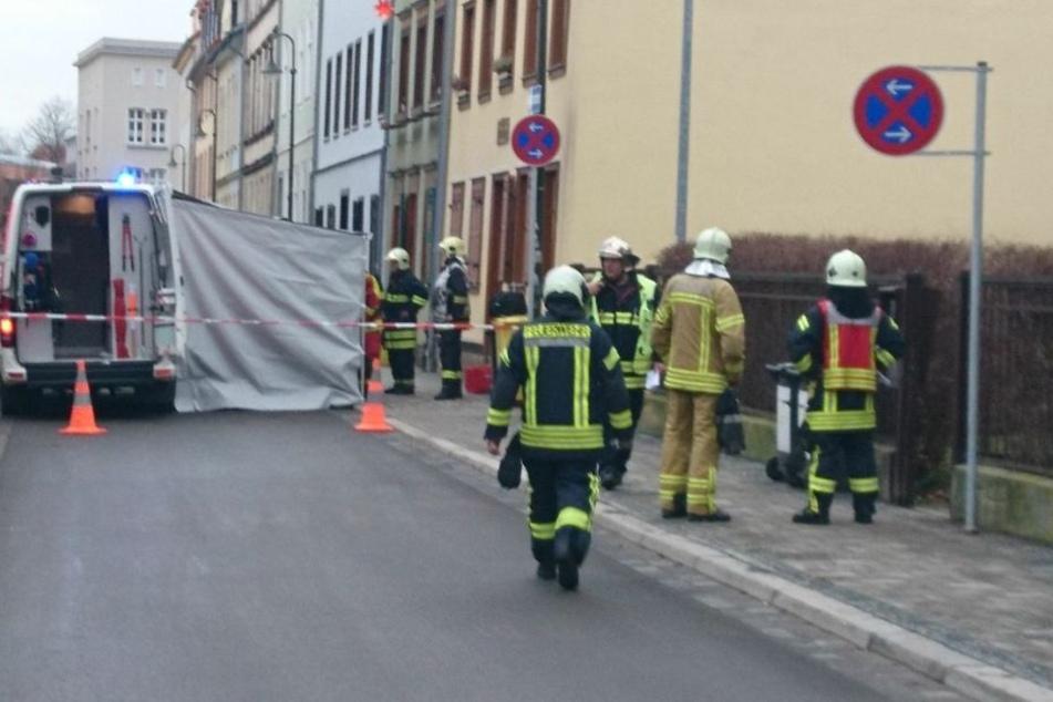 Aktuell läuft hier ein Großeinsatz von Feuerwehr und Polizei.