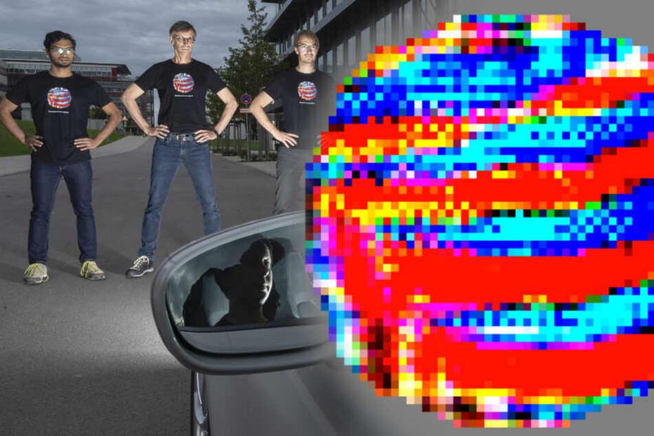Stuttgart: Wahnsinn: Dieses Muster legt selbstfahrende Autos lahm!