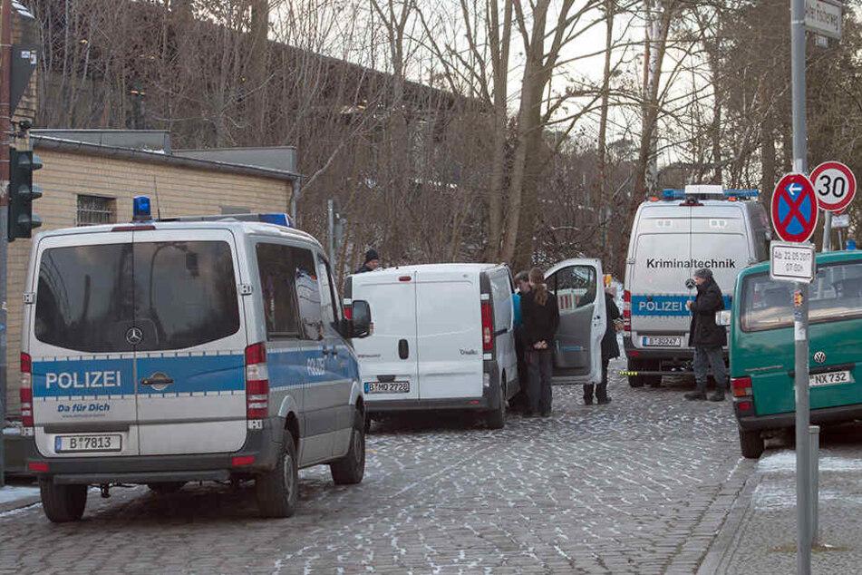 Der Fundort der Leiche im Alten Fischerweg.