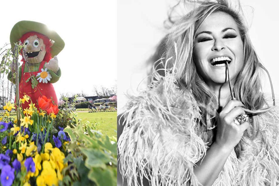 Die US-Sängerin Anastacia singt im Juli auf der Landesgartenschau in Bad Lippspringe.