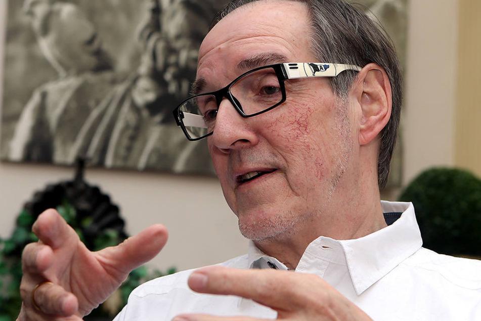 Hans-Jürgen Laufer (68) möchte, dass die Zuschauerzahlen auf die 23.000-er Marke ansteigen.
