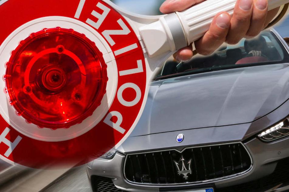 Der Londoner raste im Maserati durch Köln. (Symbolbild)