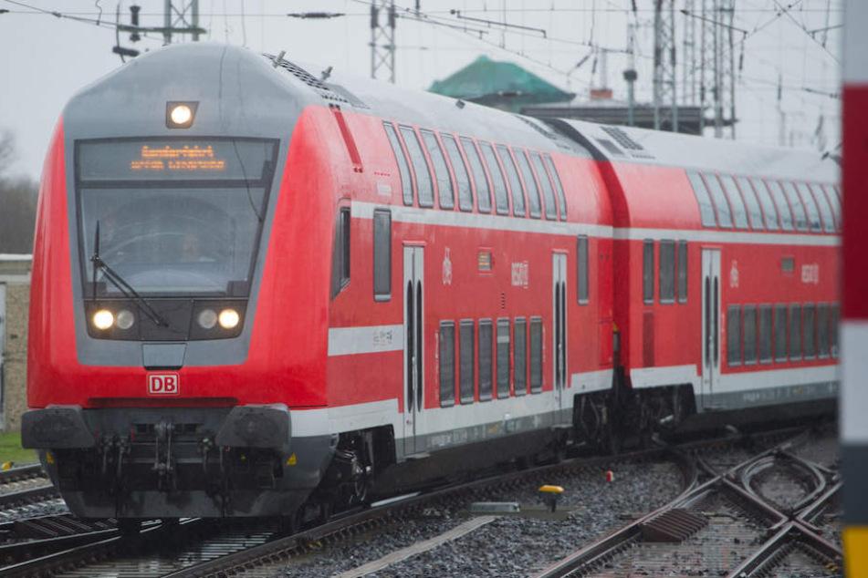 Ein RegionalExpress RE 5 der Linie zwischen Berlin und Stralsund.