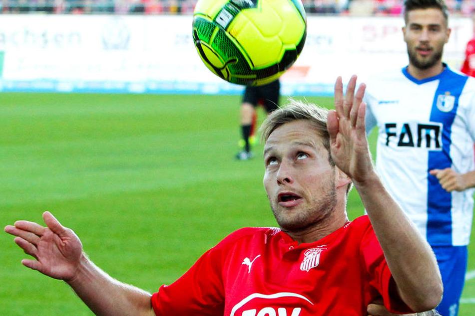 René Lange will sich mit seinen FSV-Kollegen heute in München nur auf den Fußball konzentrieren.