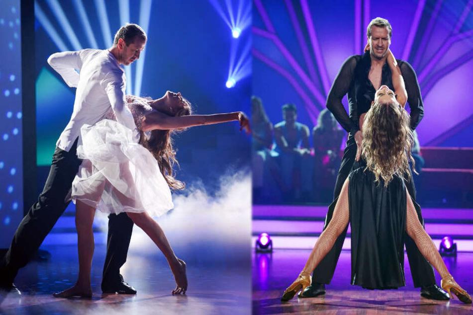 Pascal Hens und seine Tanzpartnerin begaben sich in ihren Auftritten in sinnliche Posen.