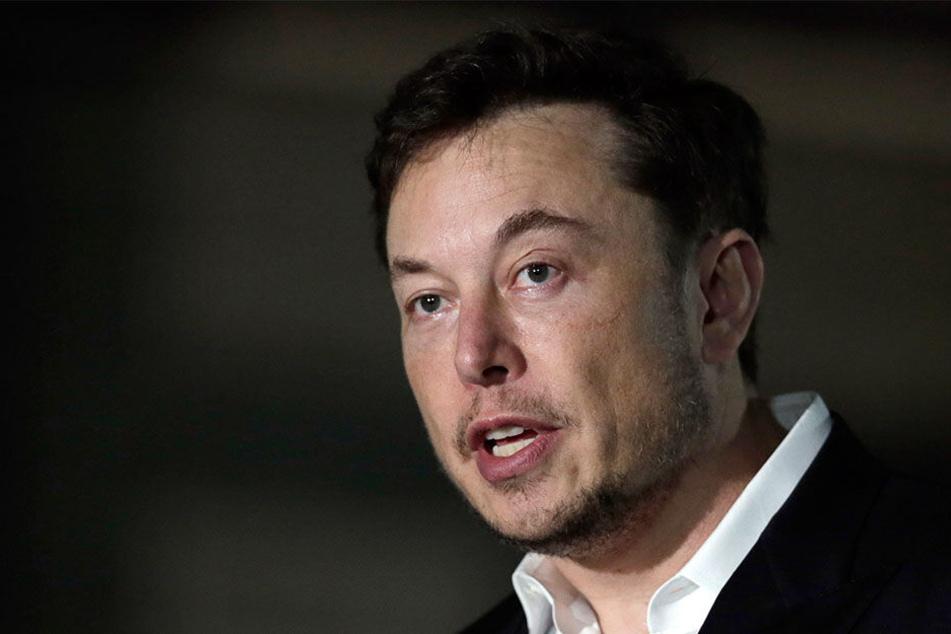 Sorgt mit einigen bizarren Aktionen für Aufsehen: Unternehmer und Investor Elon Musk