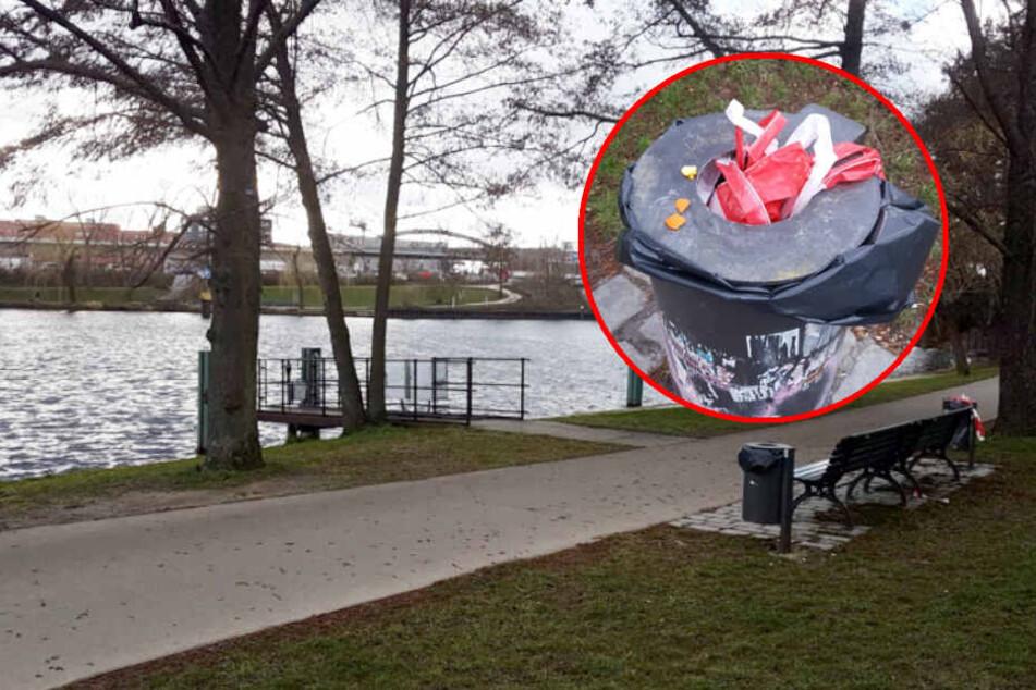 Eine tote Frau wurde aus dem Nordhafen geborgen. (Bildmontage)