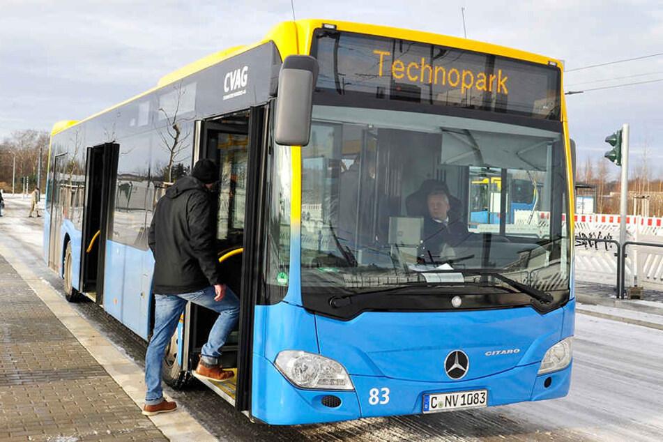 Grippe auch im Nahverkehr: In Chemnitz fallen die Busse aus
