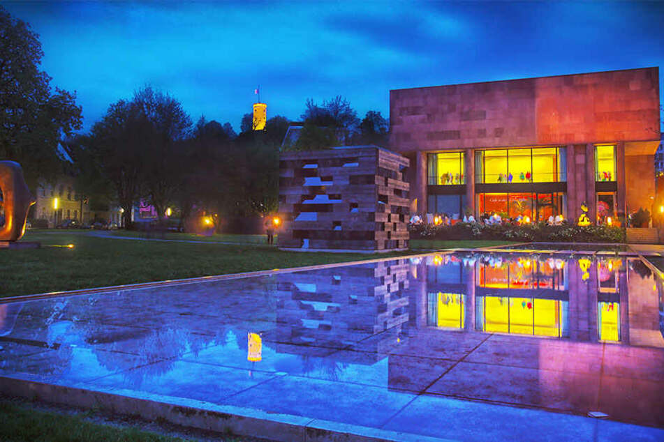 Auch die Kunsthalle Bielefeld beteiligte sich an den Nachtansichten.