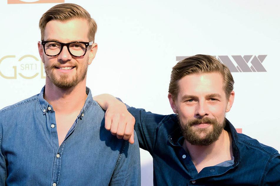 Joko Winterscheidt (l) und Klaas Heufer-Umlauf haben in Berlin eine gemeinsame Produktionsfirma.