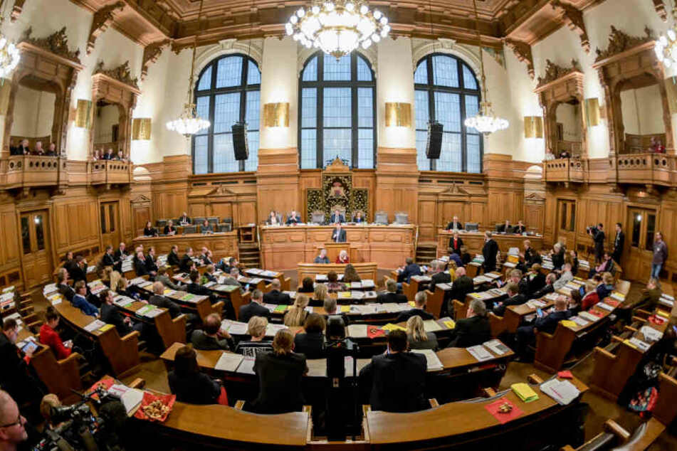 Die Hamburgische Bürgerschaft wird im Februar neu gewählt. (Archivbild)