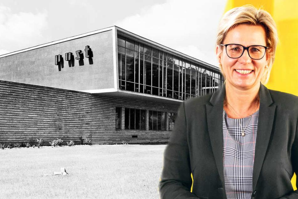 Sachsens Tourismus-Ministerin Barbara Klepsch zieht in die DDR-Post