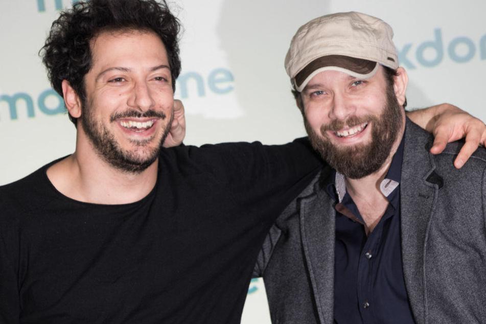 Fahri Yardim und Christian Ulmen bei der Premiere zur zweiten Staffel von Jerks.