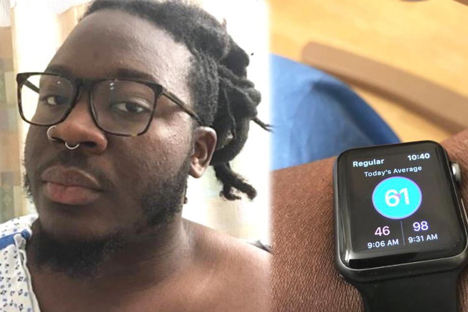 Seine Smartwatch rettete ihm das Leben