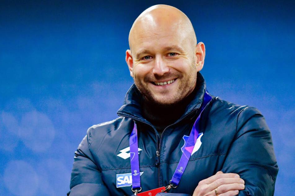 TSG-Sportdirektor Alexander Rosen (Foto) glaubt, dass sich Otto in Heidenheim gut weiterentwickeln kann.