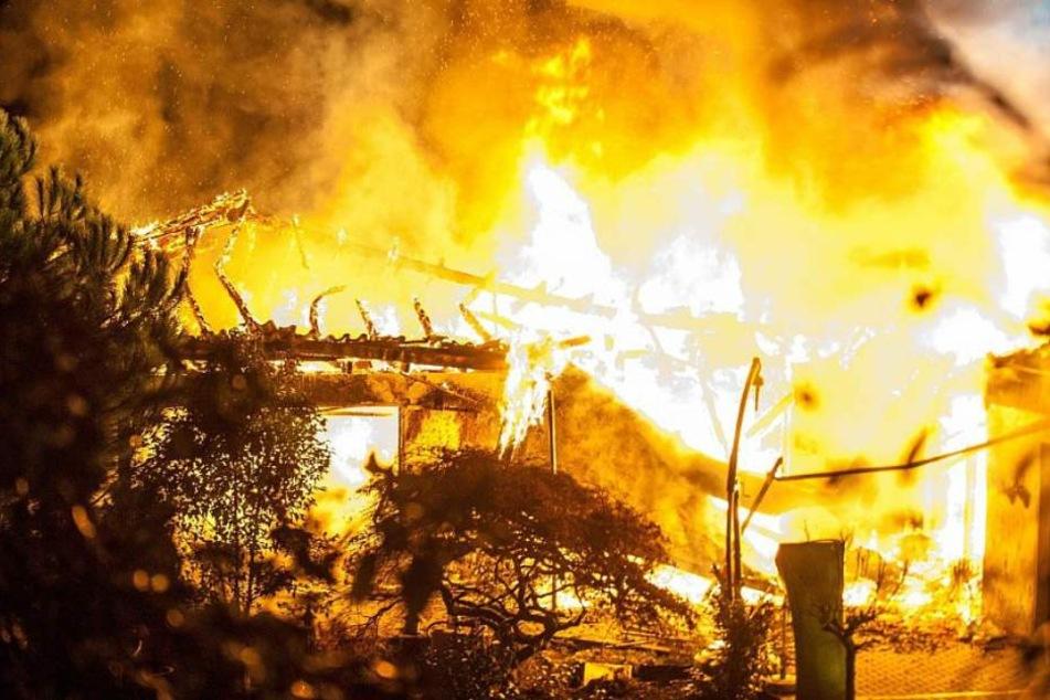 Doch das gesamte Gebäude brannte aus.