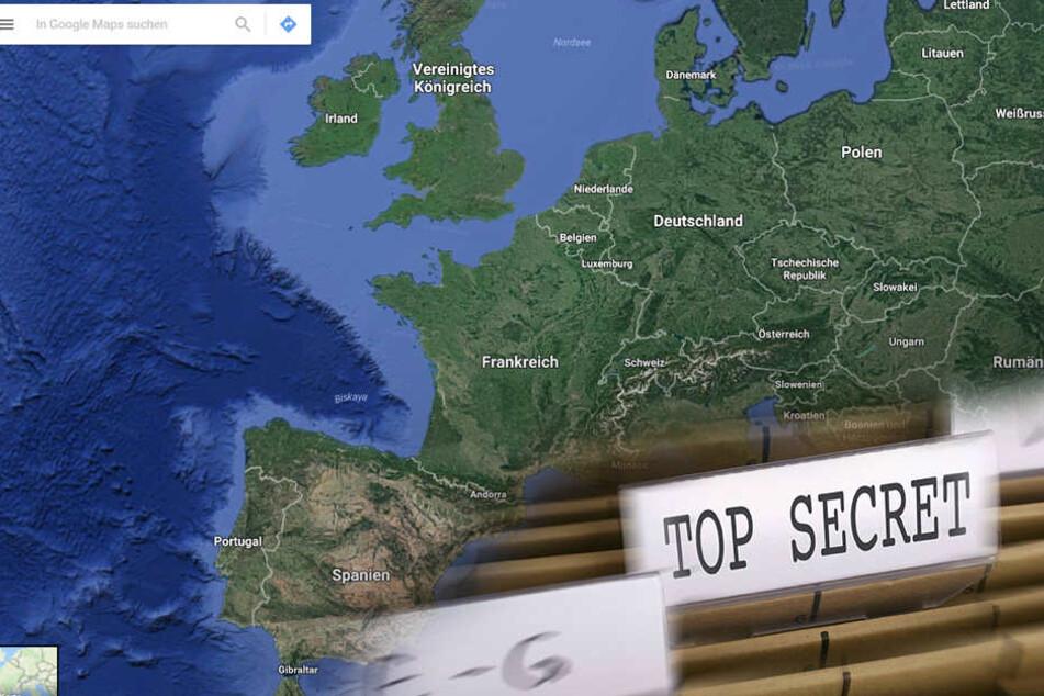 Diese elf Orte will Google Maps vor uns verstecken