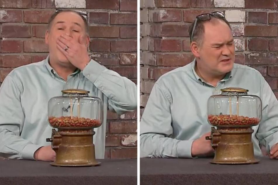 Alte Nüsse schmecken richtig gut, findet Walter Lehnertz. Stimmt aber offensichtlich nicht.
