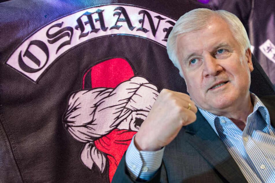 Bundesinnenminister Horst Seehofer (69, CSU) greift hart gegen die Rocker durch.