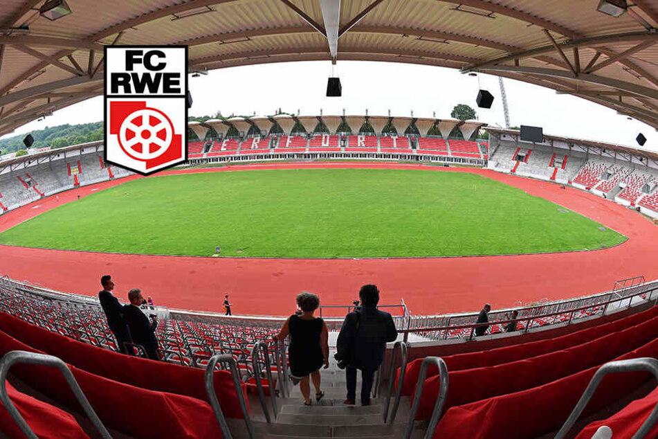 Mängel am Steigerwaldstadion werden behoben