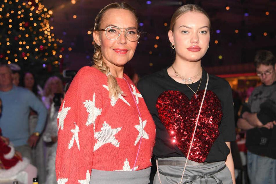 Natascha Ochsenknecht und ihre Tochter Cheyenne Ochsenknecht.