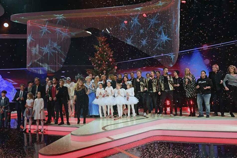 Voriges Jahr funkelten die Stars zur MDR-Weihnachtsgala noch auf der Chemnitzer Bühne.
