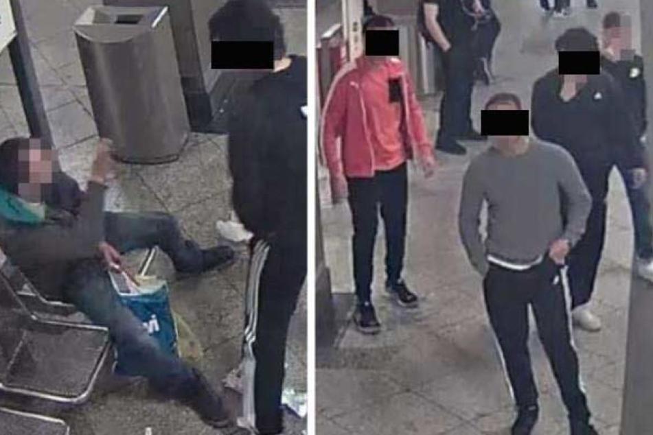 Mit Aufnahmen aus der Überwachungskamera wurde nach den Tatverdächtigen gesucht.