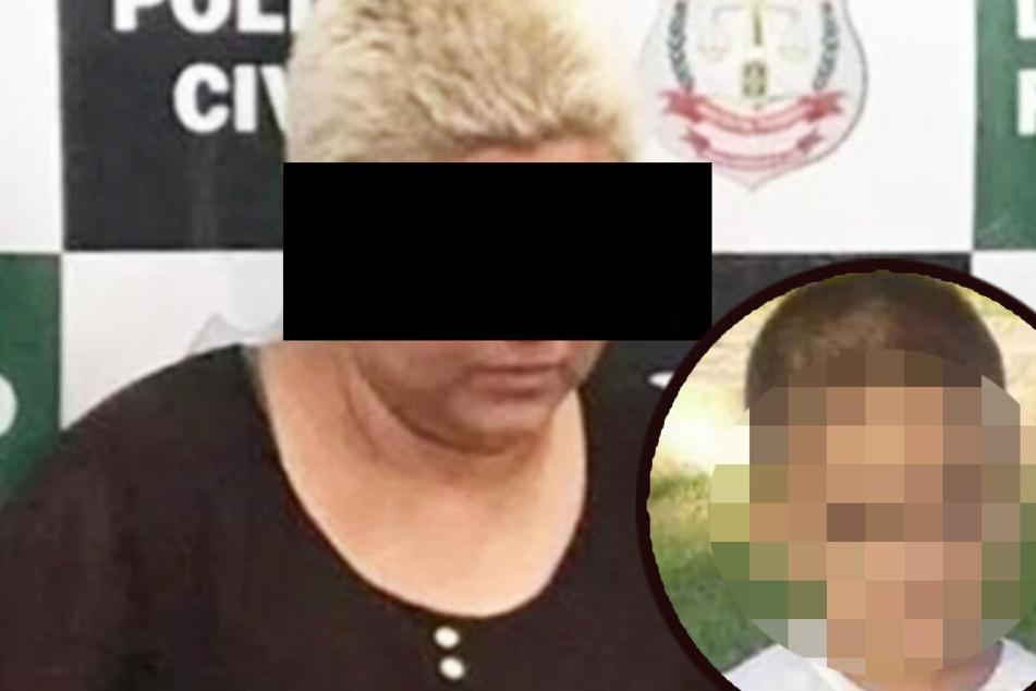 Die Horror-Mutter folterte ihren Sohn und brachte ihn um.