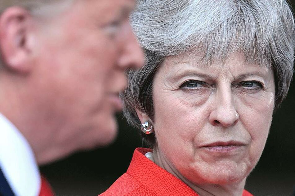 Großbritanniens Premierministerin Theresa May (61).