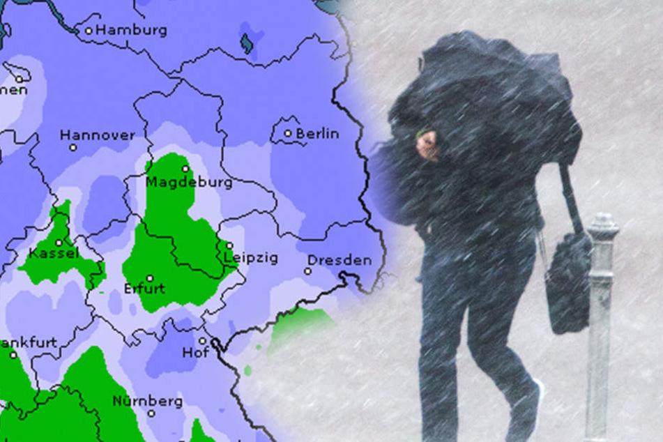 Das Fest wird in weiten Teilen Deutschland einfach heftig verregnet.