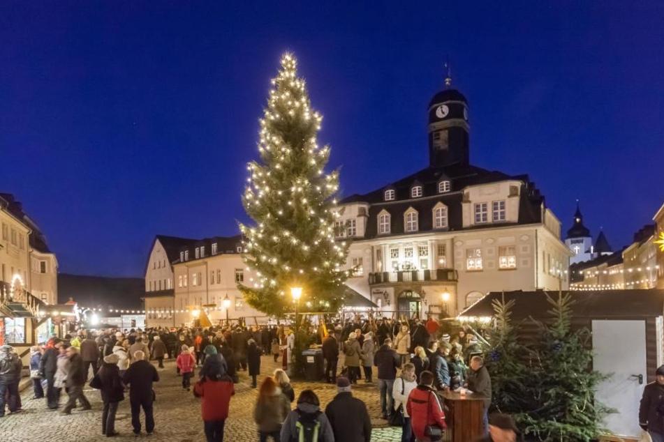 Der Schwarzenberger Weihnachtsmarkt beginnt am 7. Dezember.