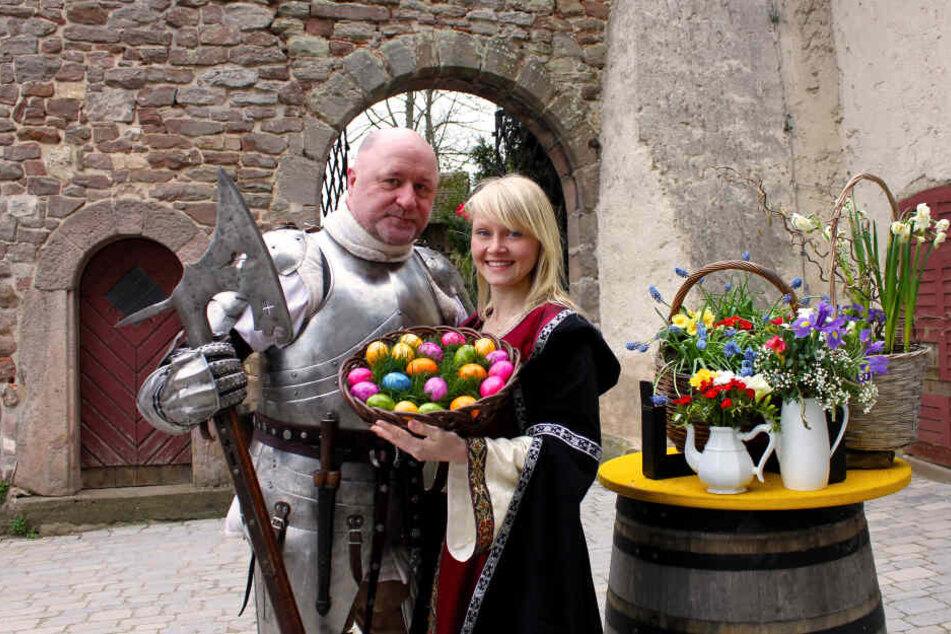 Ritter werden am Karfreitag bei den Passionsspielen antreten.