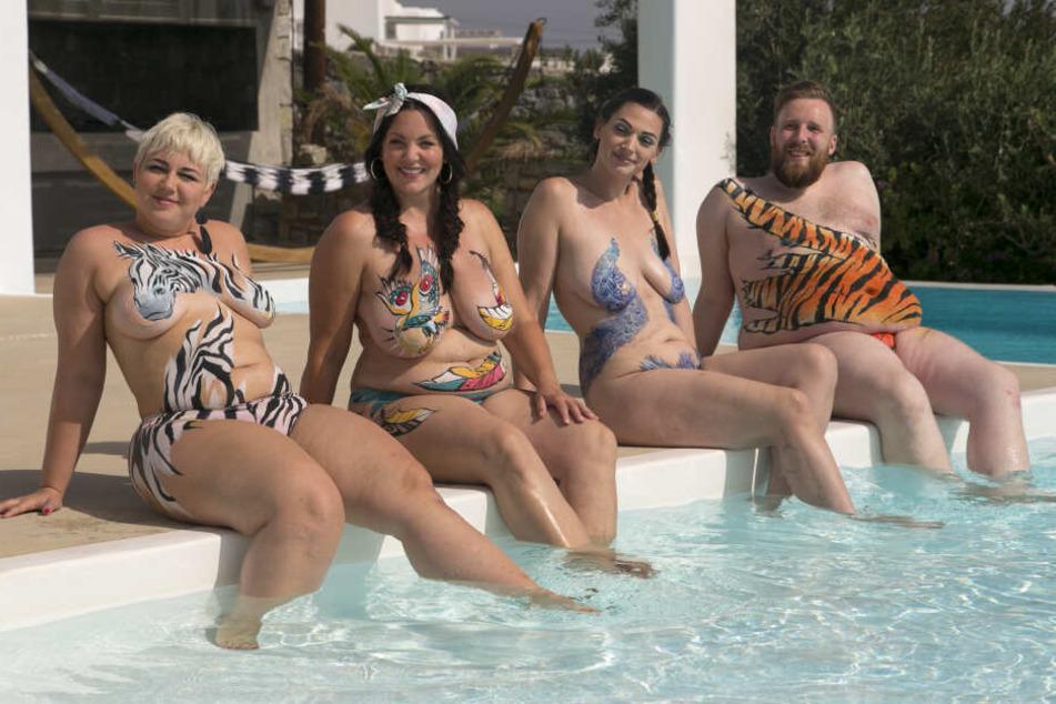 """Die Nackt-Show """"No Body is perfect – Das Nacktexperiment"""" startete am 13.01.2020 bei Sat.1."""