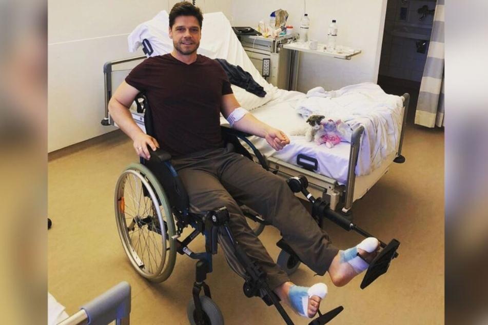 Stephen Dürr musste sich zwei Operationen unterziehen.