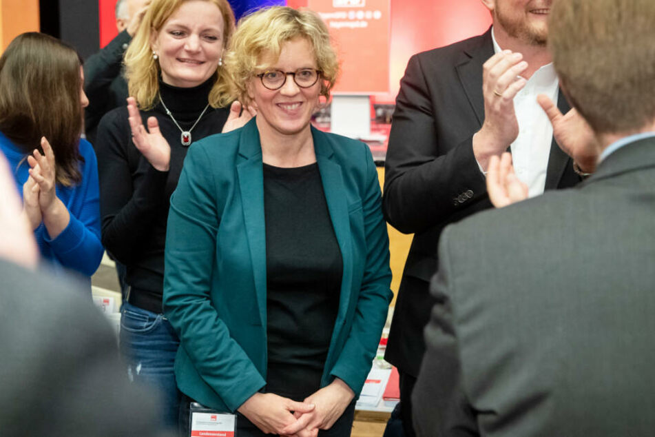 Wiederwahl! Natascha Kohnen bleibt Landeschefin der SPD in Bayern.