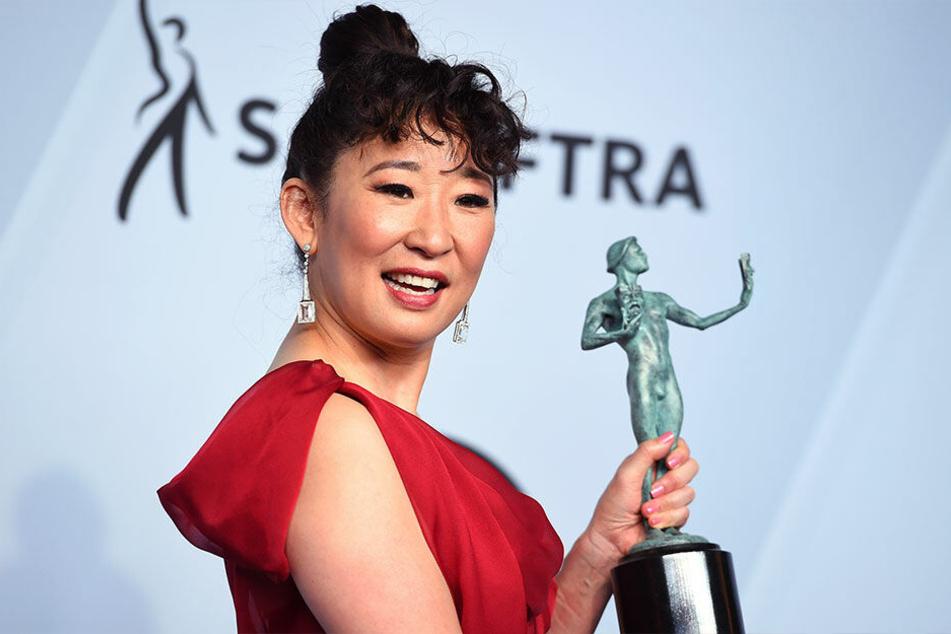 Bei den Screen Actors Guild Awards erhielt Sandra Oh ihre Auszeichnung für Killing Eve.
