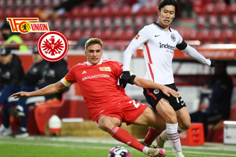 Eintracht Frankfurt und Union Berlin teilen nach torreichem Hin und Her die Punkte
