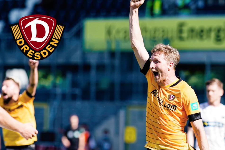Dynamo Dresden verlängert mit Hartmann: Routinier bleibt auch in der 3. Liga!